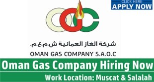 Multiple Job Vacancies at Oman Gas Company (OGC)