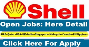 Shell Job Vacancy