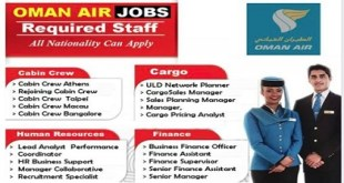 Direct Staff Recruitment – OMAN AIR