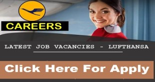 MULTIPLE JOB VACANCIES AT LUFTHANSA