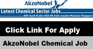 AkzoNobel Chemical Job