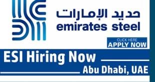Emirates Steel Industries (ESI) Jobs & Careers