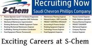 Exciting Careers at S-Chem