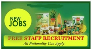 LATEST JOB VACANCIES AT DELMONTE FOODS UAE ~ KSA