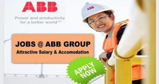 LATEST JOBS @ ABB GROUP