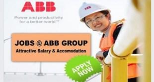 LATEST JOBS @ ABB GROUP