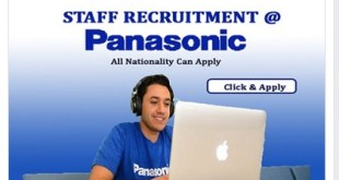 Staff Recruitment@ Panasonic Corporation