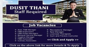 NEW JOBS AT DUSIT THANI