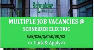 SCHNEIDER ELECTRIC – MULTIPLE LOCATIONS