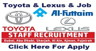 Toyota & Lexus Job Vacancies