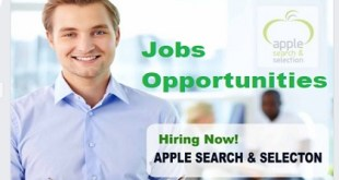 HIRING NEW JOB VACANCIES @ APPLE SEARCH & SELECTON
