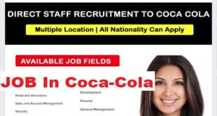 JOB VACANCIES @ Coca-Cola