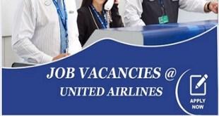 JOB VACANCIES AT UNITED AIRLINES