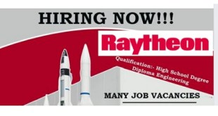 LATEST JOB VACANCIES @ RAYTHEON