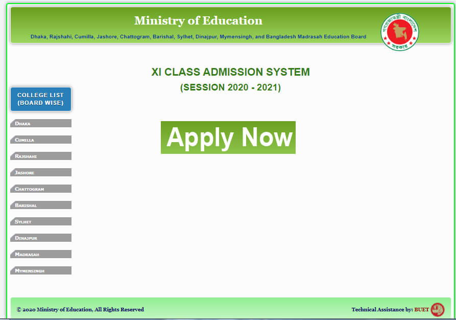 How To Online Application for HSC Admission 2020