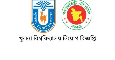 Government Job Circular at khulna University