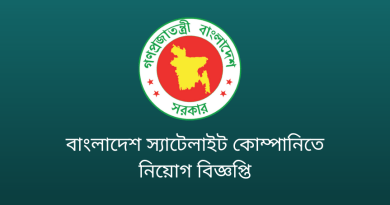 Job circular at Bangladesh Satellite Company Limited