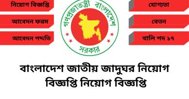 Bangladesh National Museum Job Circular