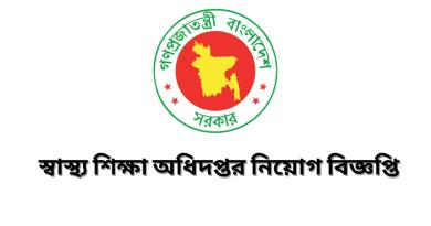 Department of Health Job Circular