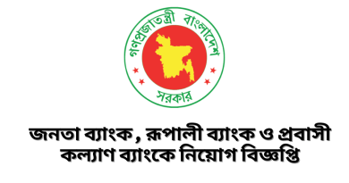 Bangladesh Government Job Circular