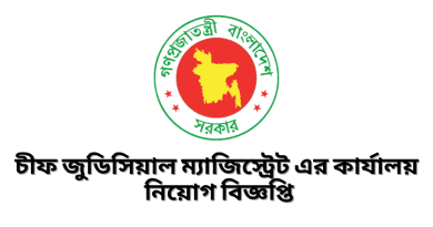 Chief Judicial Magistrate Office Job Circular 2021