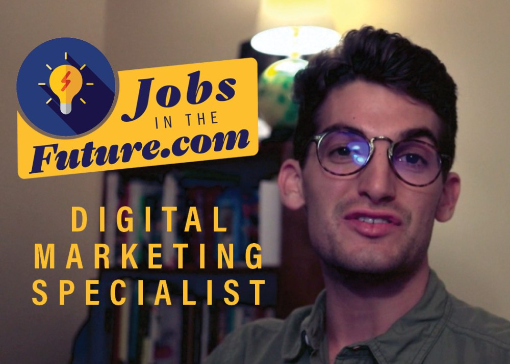 digital marketing specialist in data analytics and social media