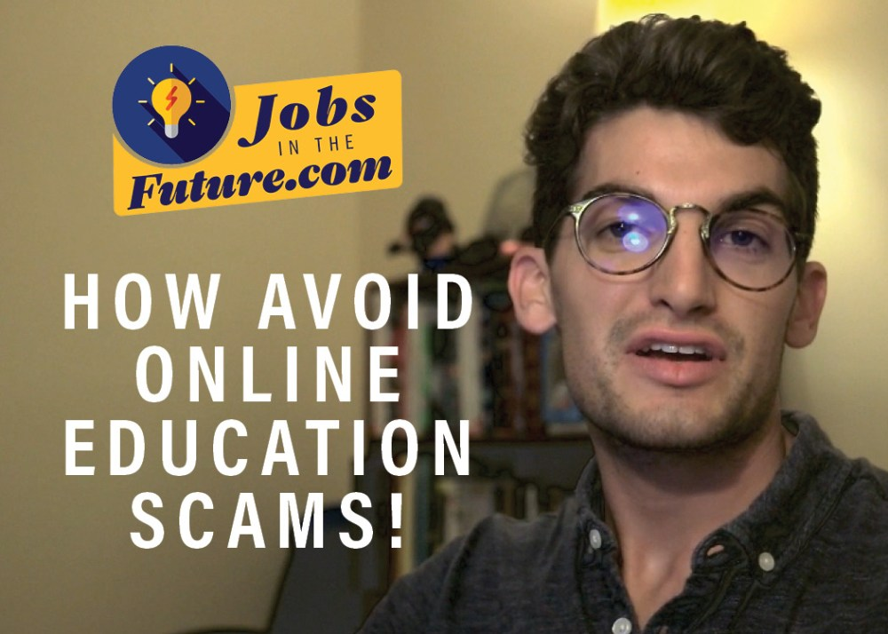 avoid online education scams and find the best online tutorials