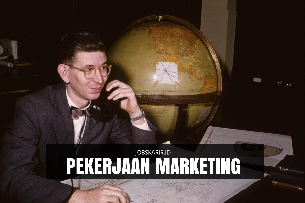 pekerjaan marketing