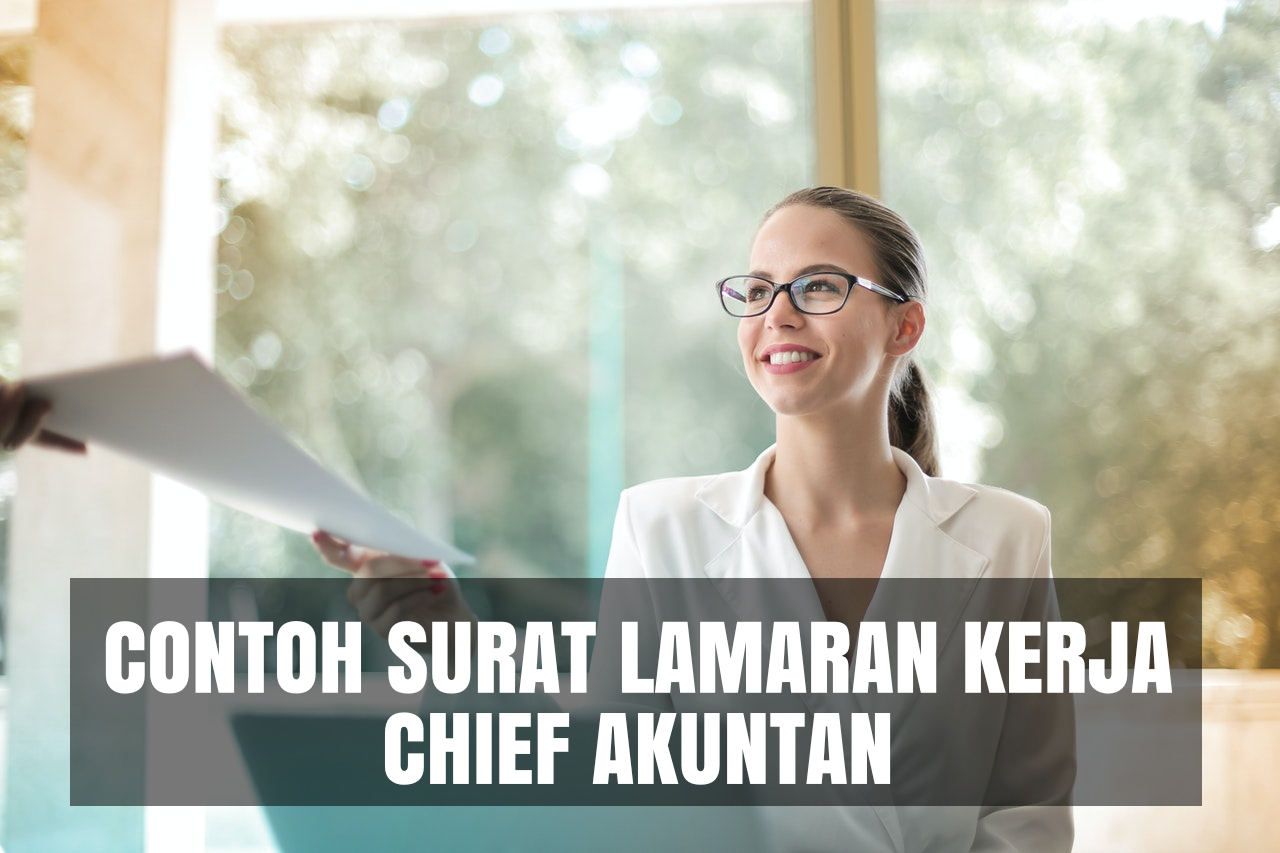 contoh cover letter chief akuntan
