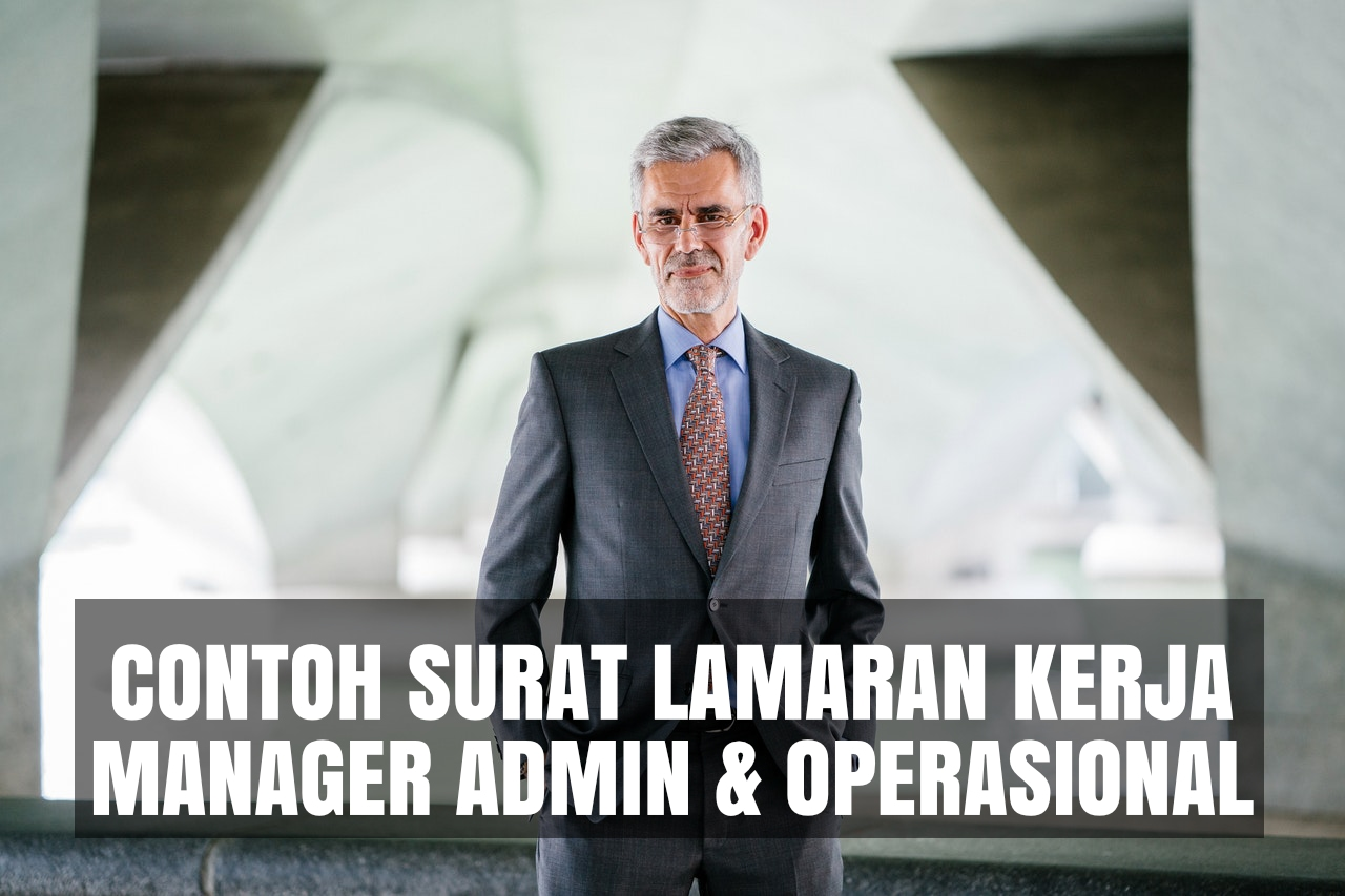 contoh cover letter manager administrasi operasional
