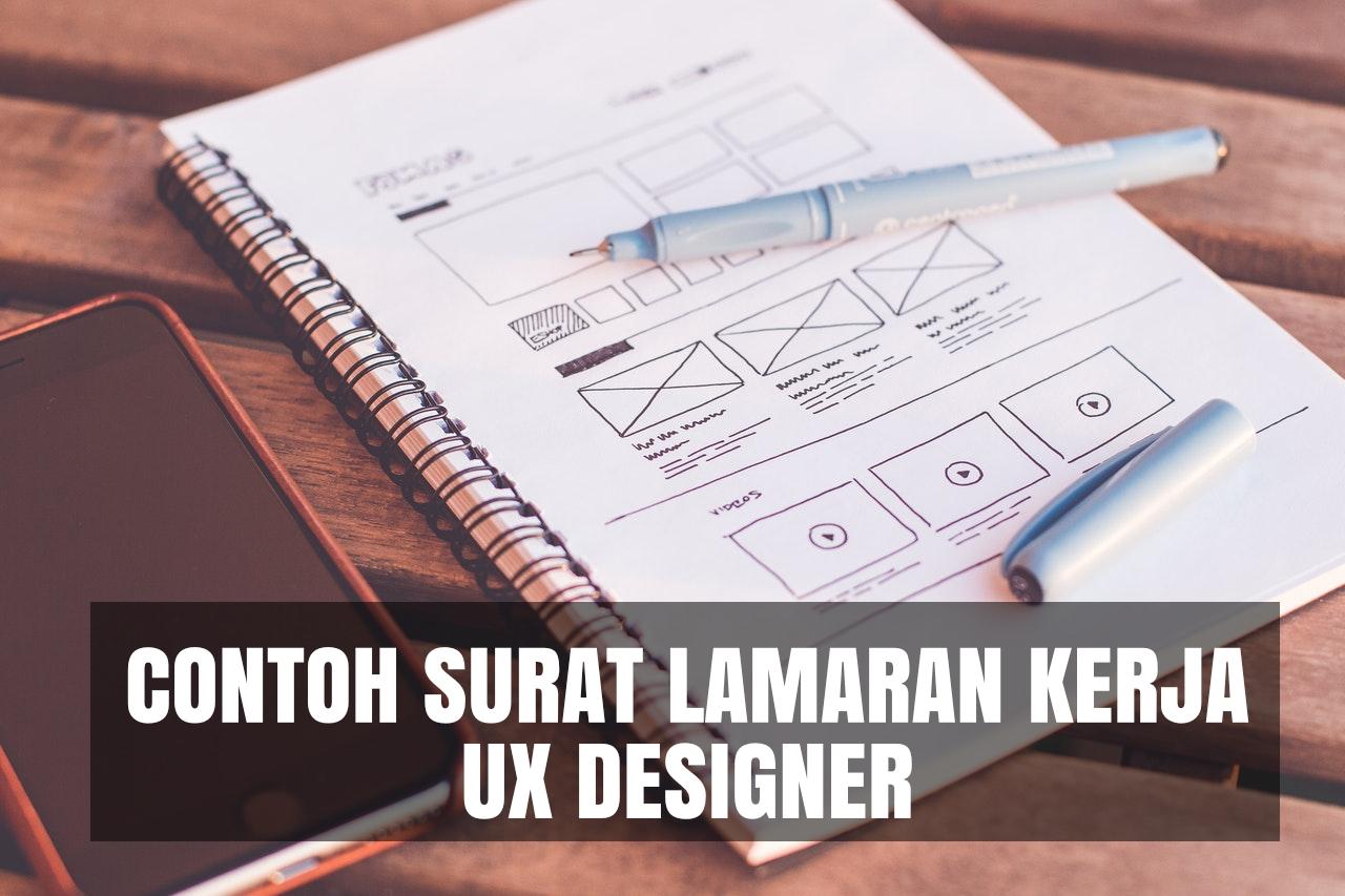 contoh cover letter ux designer