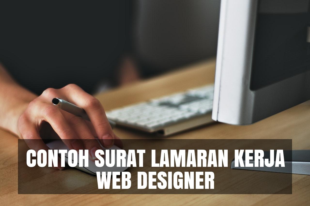 contoh cover letter web designer