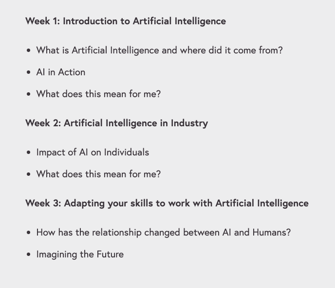 Free Online Course From Accenture About Artificial Intelligence, Digital Skills Available Now