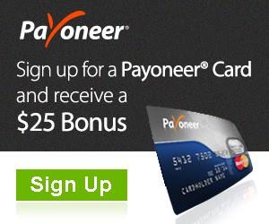 How to use Payoneer Mastercard