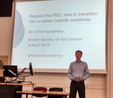 Chris Humphrey BSSS Conference 2015