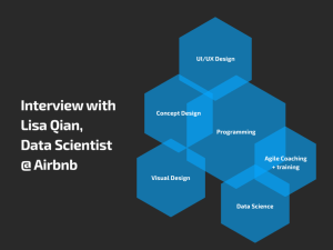 Interview with Lisa Qian, Data Scientist