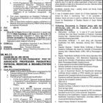 PPSC Jobs Advertisement No 2016 Apply Online