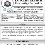 Bacha Khan University Charsadda Jobs 2016 Latest Posts