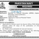 Jobs in Pak Navy for Females 2016 PNS Shifa Latest