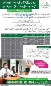 Punjab Police Civilian Jobs 2016 for Male & Females Latest