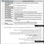 Public Sector NTS Jobs 2016