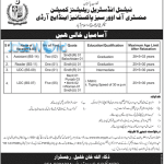 National Industrial Relations Commission Jobs 2016 Ministry Of Overseas Pakistanis & HRD