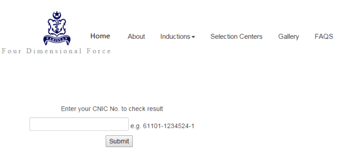 check pak navy online result 2016