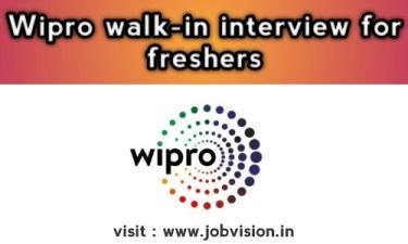 Wipro Walk In Drive