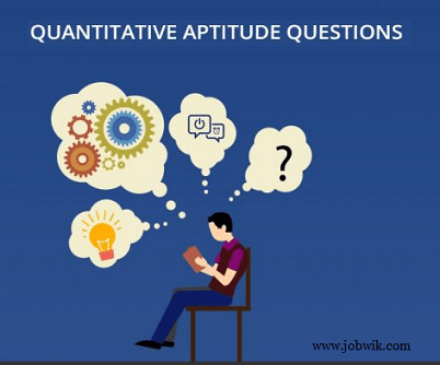 Quantitative Aptitude Questions 19th January 2019