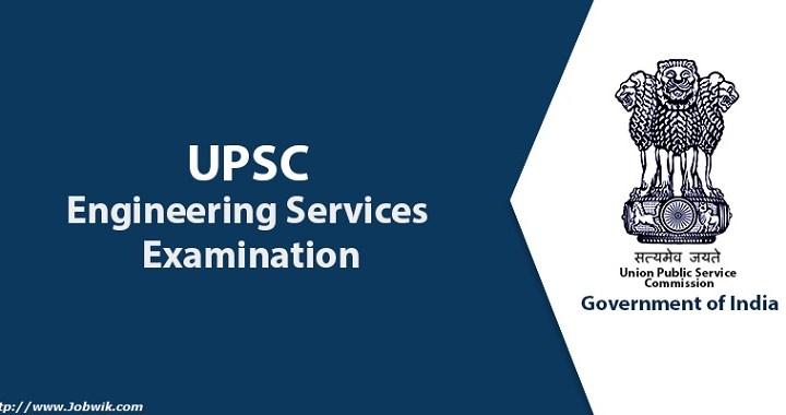 UPSC Engineering Services Exam – IES 2019