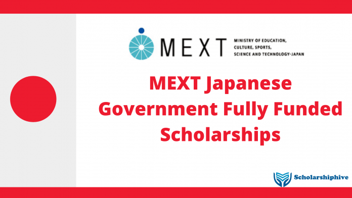 MEXT Japanese Government Fully Funded Scholarships 2021