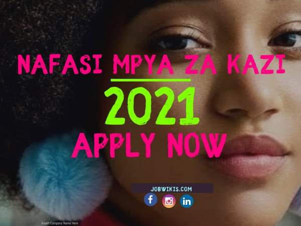 Jobs In Tanzania 2021 Also known as Nafasi za kazi Katika Kampuni Mbalimbali 2021. It include also Ngo jobs in tanzania, un jobs in tanzania.