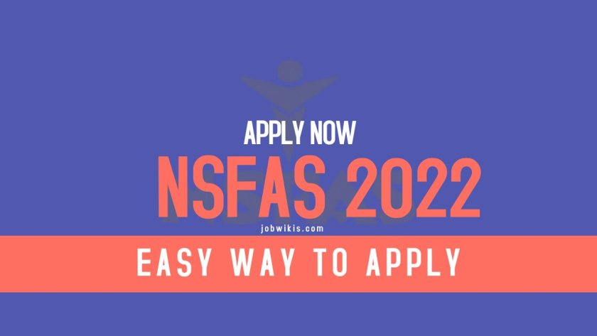 How to apply for NSFAS funding? - Best way to apply for nsfas 2022