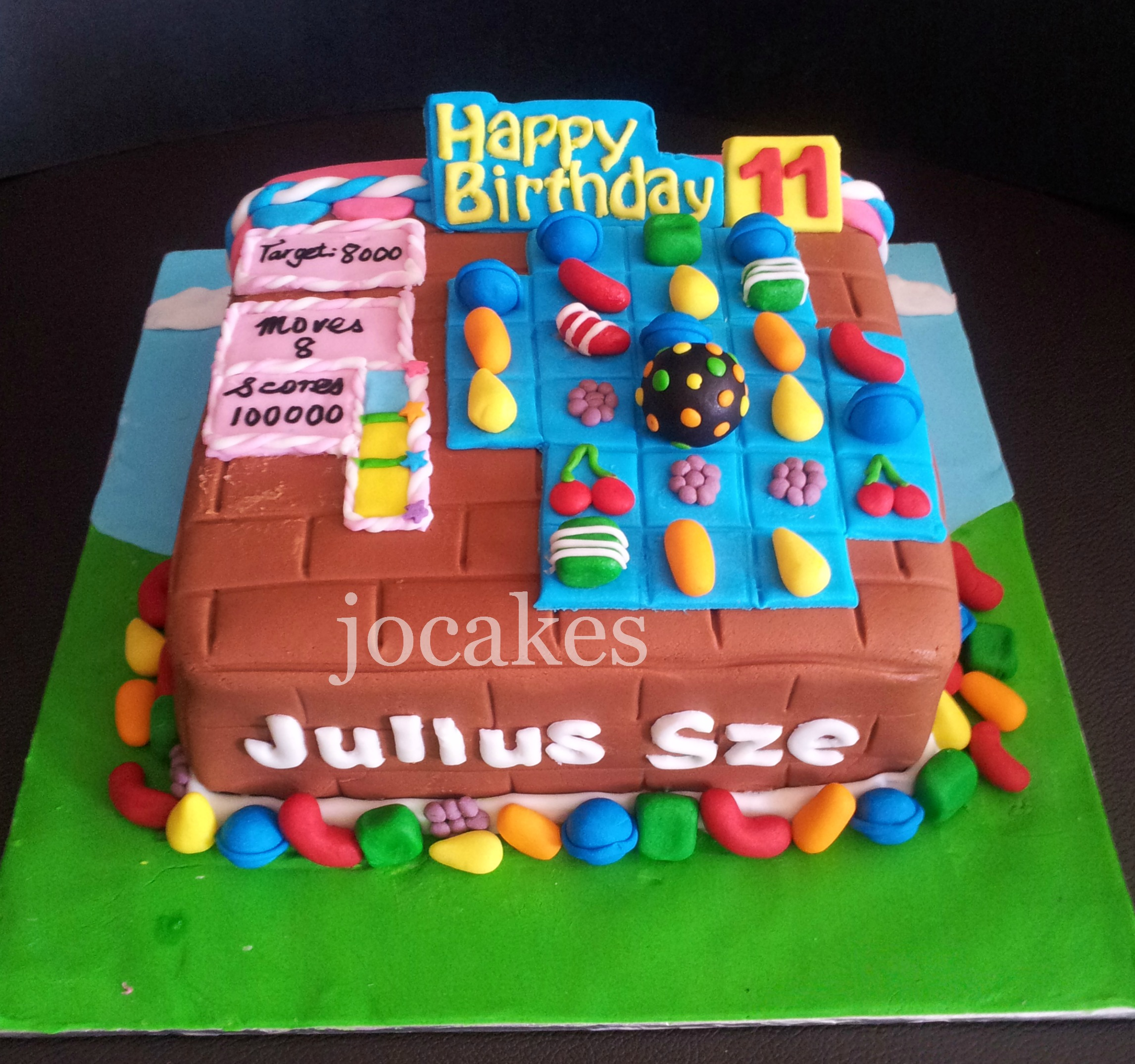 Birthday Cake For Children Jocakes
